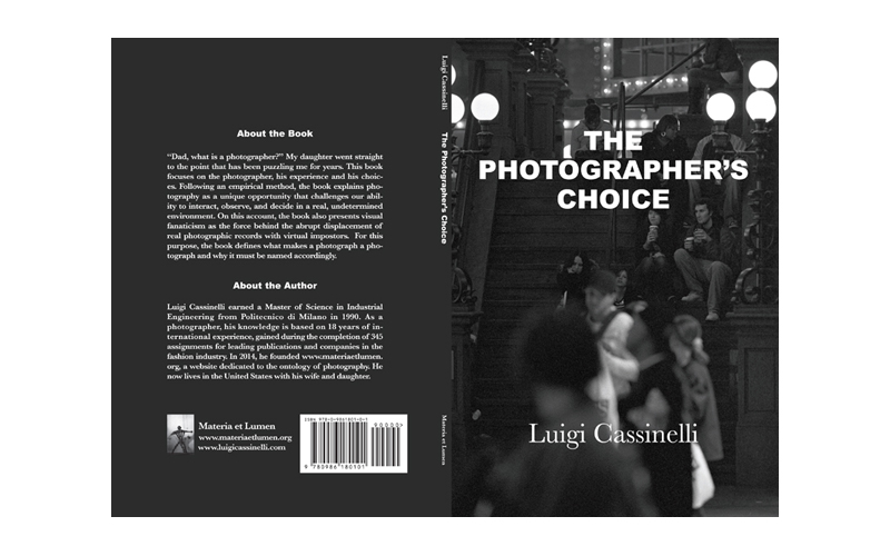 Cover of The Photographer's Choice by Luigi Cassinelli
