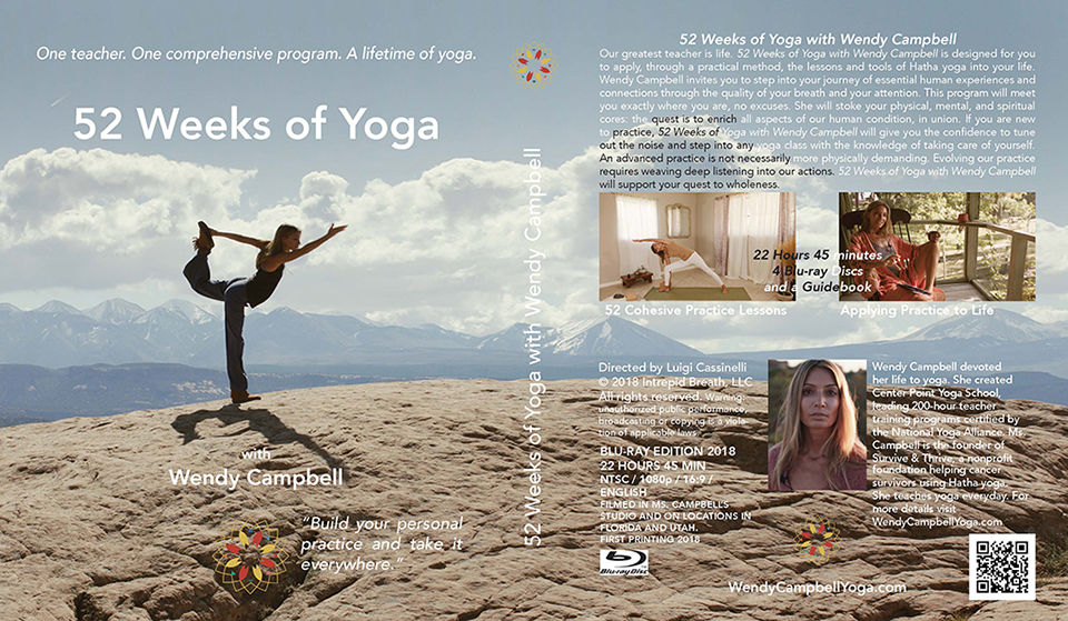 Cover of 52 Weeks of Yoga with Wendy Campbell
